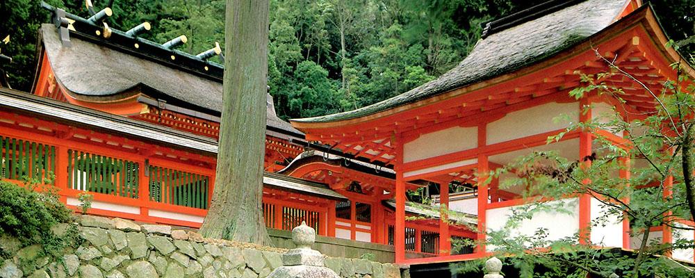 廣八幡神社拝殿・瑞垣